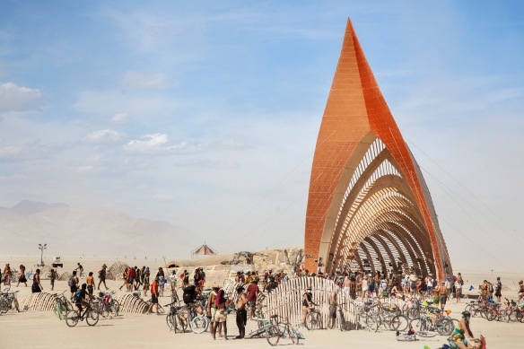 The Temple of Promise, Burning Man 2015
