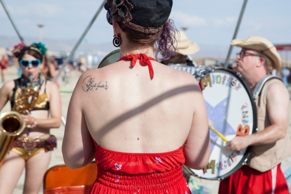 "Jessica Walker's ""how small,"" Burning Man 2014"